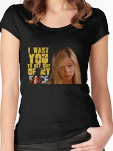 Get Out Of My Face Women's Fitted Scoop T-Shirt