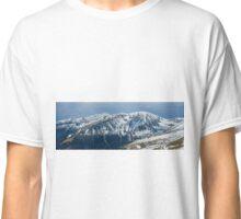 Mountain range panorama Classic T-Shirt
