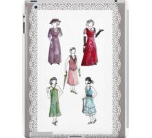 Downton Inspired Fashion iPad Case/Skin