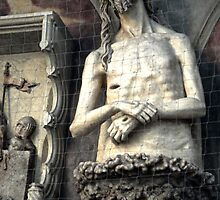 Vienna Austria, St.Stephens Cathedral, Christ by Gregory Dyer