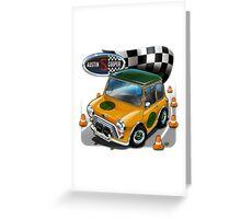 Austin Mini Cooper S Greeting Card