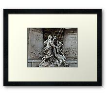 Vienna Austria, Plague Monument Framed Print
