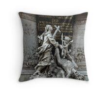 Vienna Austria, Plague Monument Throw Pillow