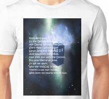 Doctor Who Poem Unisex T-Shirt