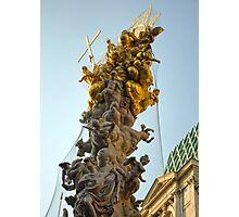 Vienna Austria, Plague Monument Photographic Print