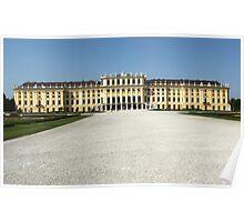 Vienna Austria, Schonbrunn Palace Poster