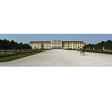 Vienna Austria, Schonbrunn Palace Photographic Print