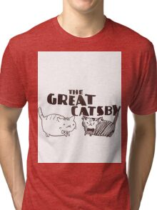 The Great Catsby Tri-blend T-Shirt