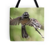 Grey Fantail ~ It's Simple Kid  Tote Bag