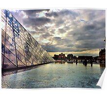 Pyramide du Louvre Poster