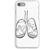 righteous lungs iPhone Case/Skin