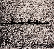 Kayakers by Emma Bennett