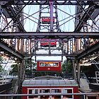 Praterstern Park, Riesenrad, Ferris Wheel by GregorDyer