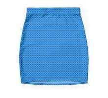 Brick Plate (Blue) Mini Skirt