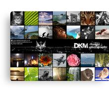 2014 Compilation Poster Canvas Print