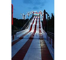 Praterstern Park, Slide Photographic Print