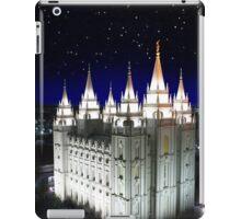 Salt Lake Temple Starry Night 20x30 iPad Case/Skin
