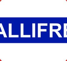 Underground: Gallifrey Sticker