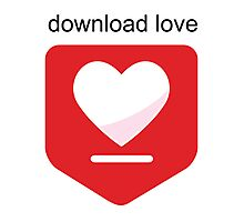 Download love Photographic Print