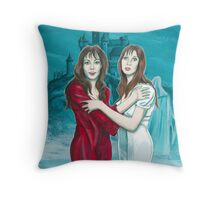 The Vampire Lovers Throw Pillow