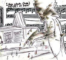 Beethoven at Work by Avi Morgan