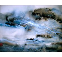 Cold Mountain River... Photographic Print