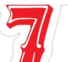 [CLASSIC] KAE9ERNICK 7 - QB #7 Colin Kaepernick of the San Francisco 49ers Sticker