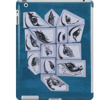 eye-Pad Blue iPad Case/Skin