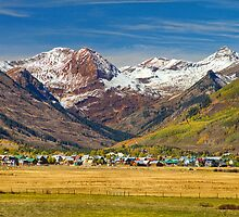 Crested Butte Colorado Autumn View by Bo Insogna