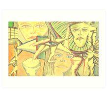 aero-glance Art Print
