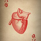 Vintage Heart Ace of Hearts by KittyBitty1