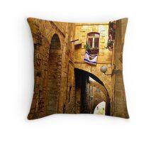 Old City Jerusalem Throw Pillow