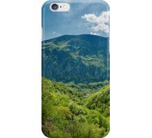 Mountain landscape on springtime iPhone Case/Skin