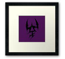 Dark Eldar Symbol  Framed Print