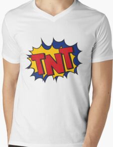 TNT Mens V-Neck T-Shirt