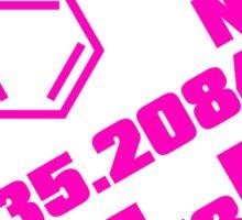 amphetamine Sticker