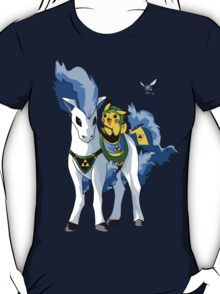 Link-ichu and Shiny Epontya T-Shirt