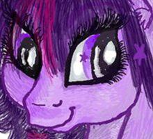 Princess Twilight Sparkle Mugshot Sticker