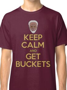 "Uncle Drew ""Keep Calm and Get Buckets"" Classic T-Shirt"