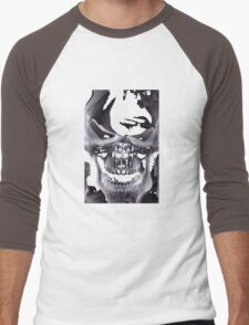 Alien Skull X-ray Men's Baseball ¾ T-Shirt