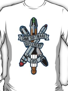 Same Software Different Case (Colored Version) T-Shirt