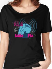 Radio Stations on Pete and Pete Women's Relaxed Fit T-Shirt