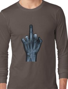 The Middle Finger Long Sleeve T-Shirt