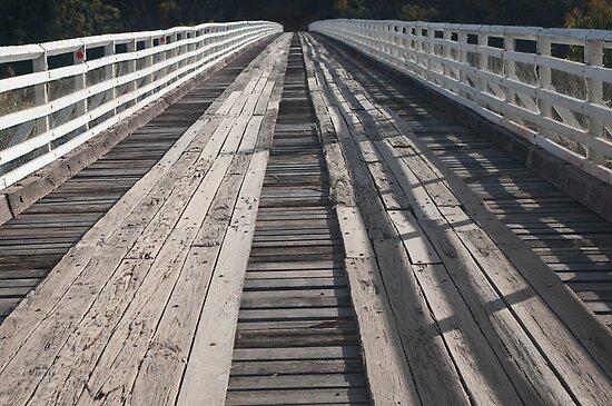 McKIllop Bridge deck by Syd Winer