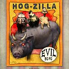Carnival Banner - Hog-zilla by Gregory Dyer