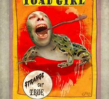 Carnival Banner - Toad Girl by Gregory Dyer