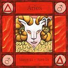 Aries (Coloured) by Donna Huntriss