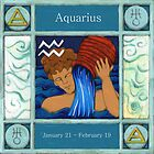 Aquarius (Coloured) by Donna Huntriss