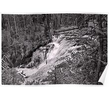 1st Tier - Terraced Falls #4 Poster