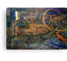 Industrious Gator Dream Canvas Print